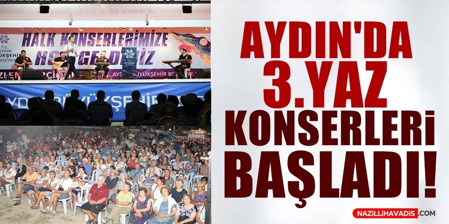 Aydın'da 3. Yaz Konserleri Başladı!