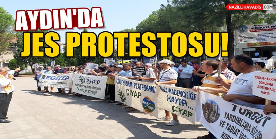 Aydın'da JES Protestosu!