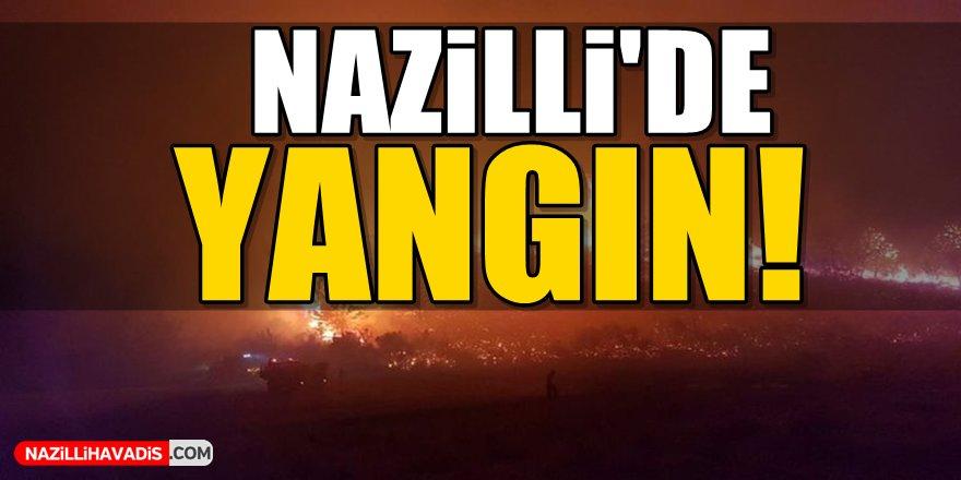 Nazilli'de Yangın!