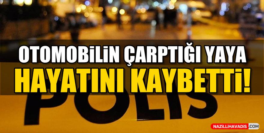 Aydın'da otomobilin çarptığı yaya hayatını kaybetti