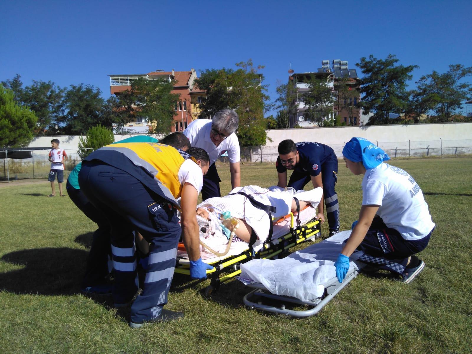 Trafik kazası: 6 yaralı!