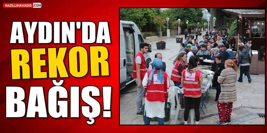 Aydın'da Rekor Bağış!