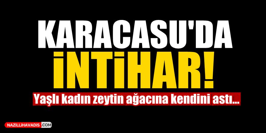 Karacasu'da İntihar!