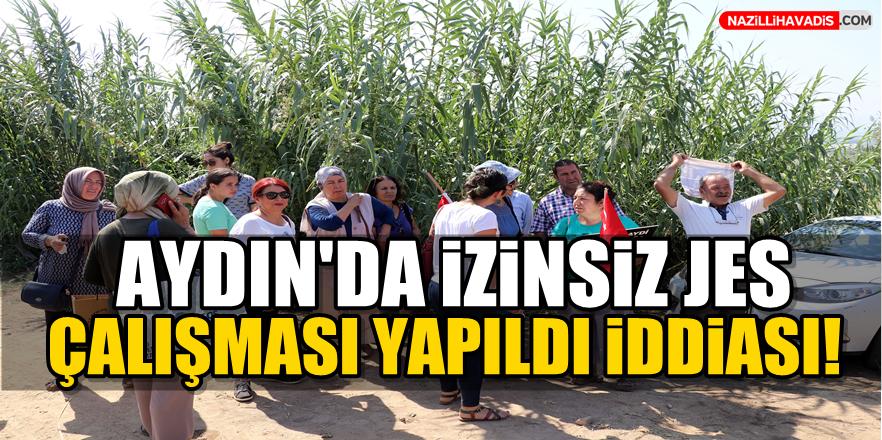 Aydın'da izinsiz jeotermal santral çalışması yapıldığı iddiası