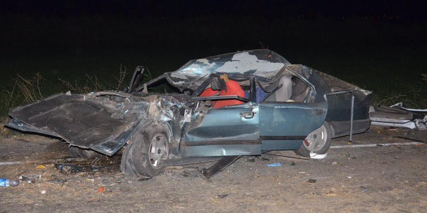 Nazilli'de feci kaza: 2 ölü, 5 yaralı