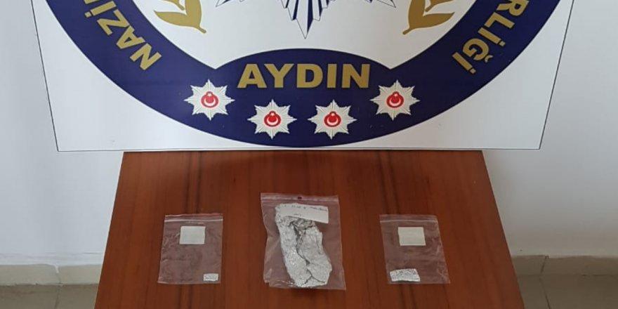 Nazilli'de zehir operasyonu: 2 tutuklama