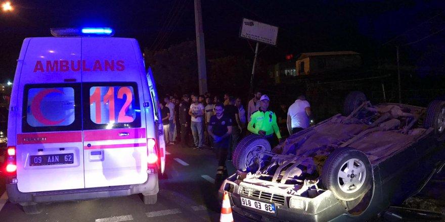 Nazilli'de trafik kazası: 6 yaralı