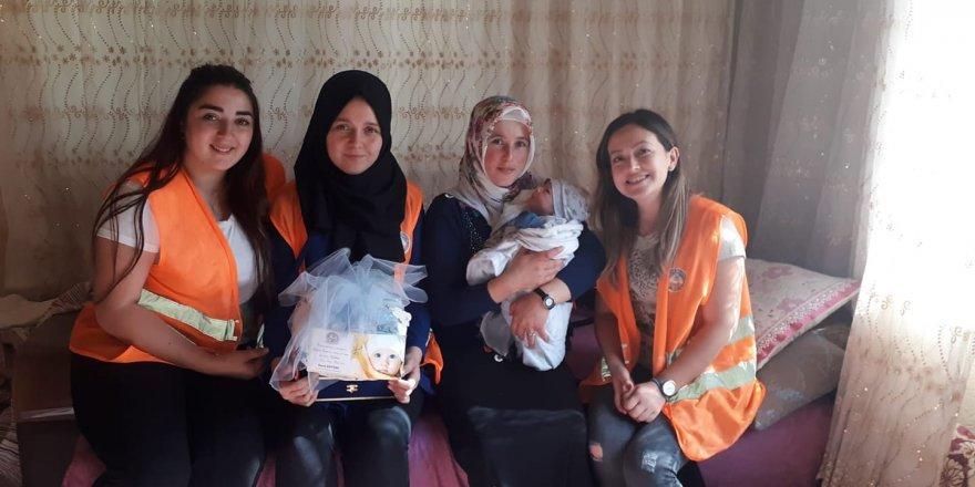 Kuyucak'ta Hoşgeldin Bebek Projesi