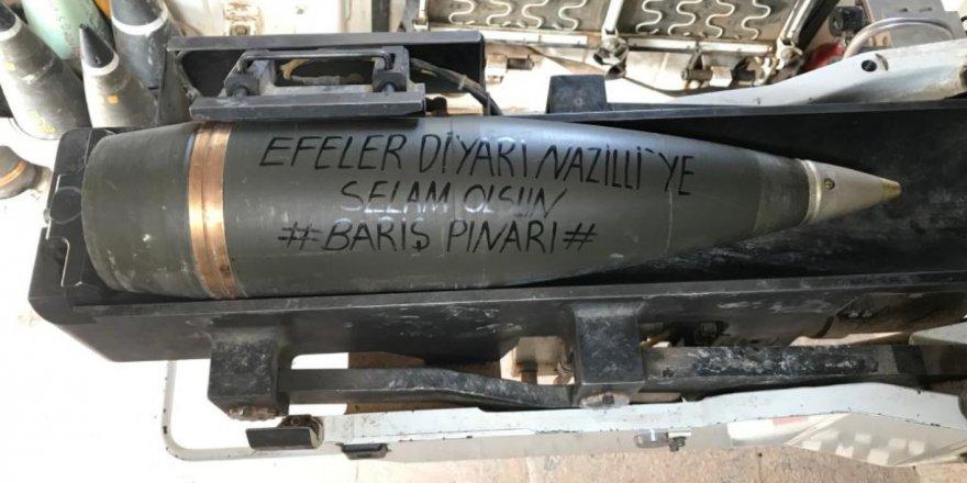 Nazillili askerlerimiz Suriye'den selam gönderdi