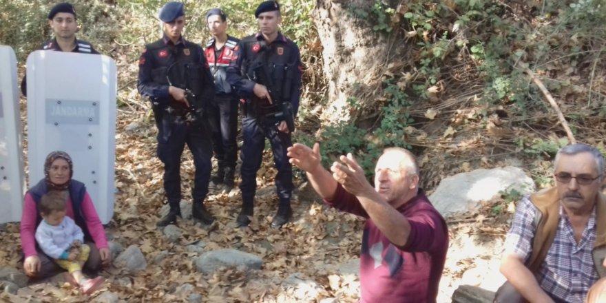 Kuyucak'ta jeotermal gerginliği: 4 kişi gözaltında