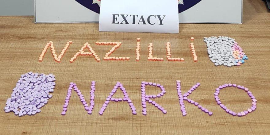 Nazilli'de extacy operasyonu :1 kişi tutuklandı