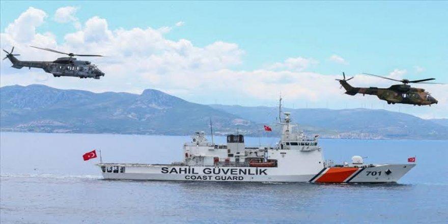 Sahil Güvenlik düzensiz göçmenlere geçit vermiyor