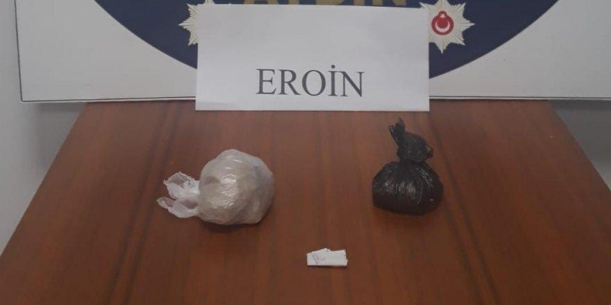 Nazilli'de uyuşturucu operasyonu:2 tutuklama