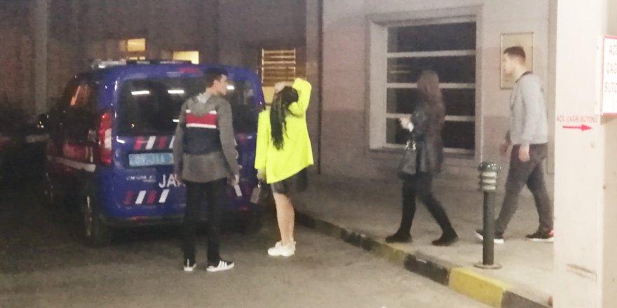 Nazilli'de 7 yabancı uyruklu kadın gözaltına alındı