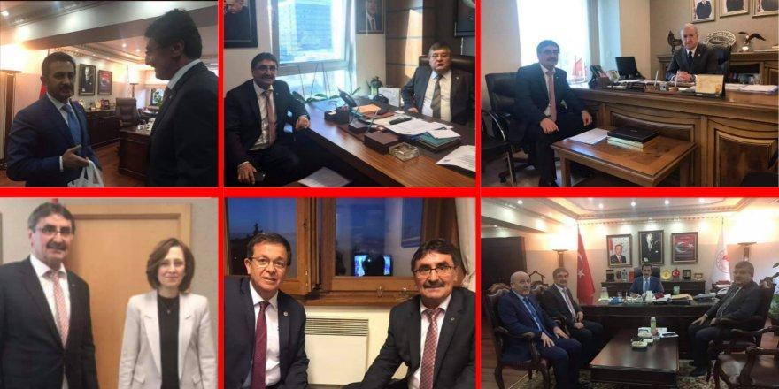 MHP'li Başkan Zeki İnal'dan Ankara çıkartması!