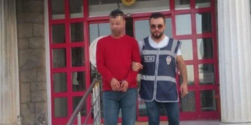 13 yaşındaki kız çocuğuna tecavüz ettiği iddiasıyla tutuklandı
