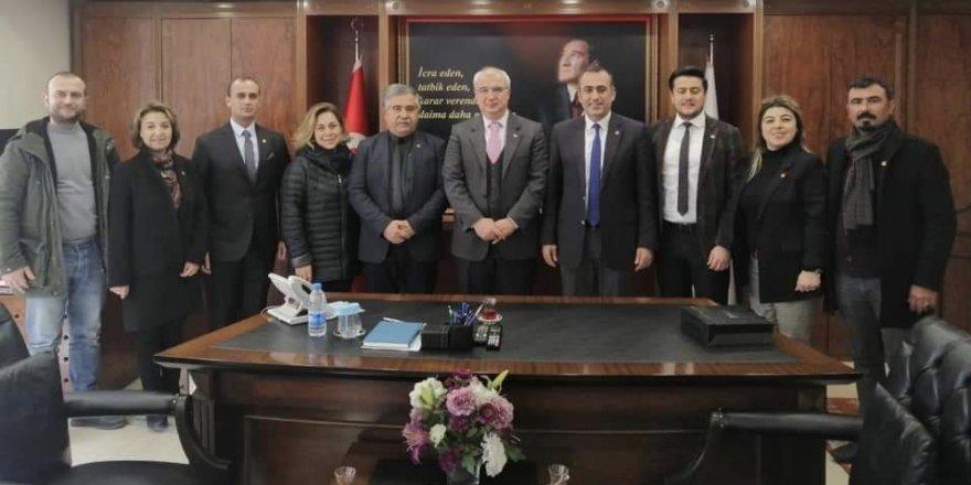 CHP'DEN KAYMAKAM ARISOY'A ZİYARET