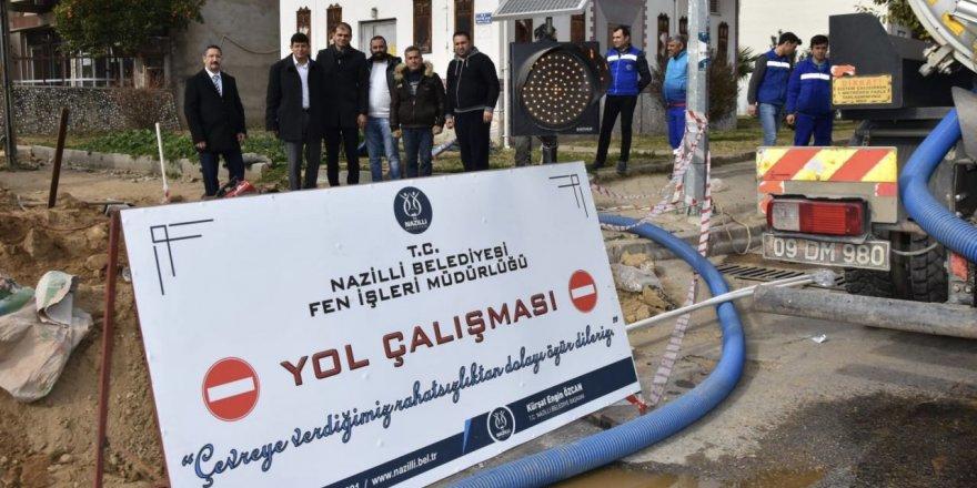 NAZİLLİ'DE ÇALIŞMALARDA 2.ETABA GEÇİLDİ
