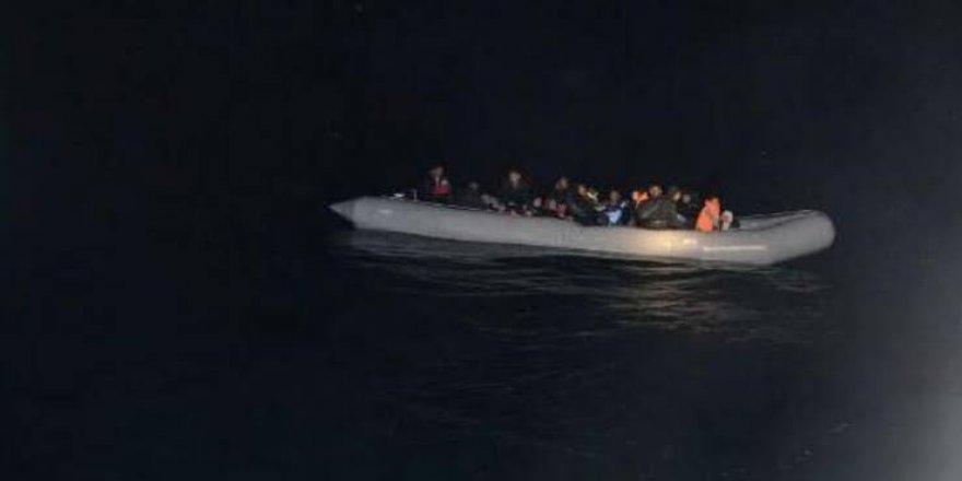Aydın'da 38 düzensiz göçmen yakalandı