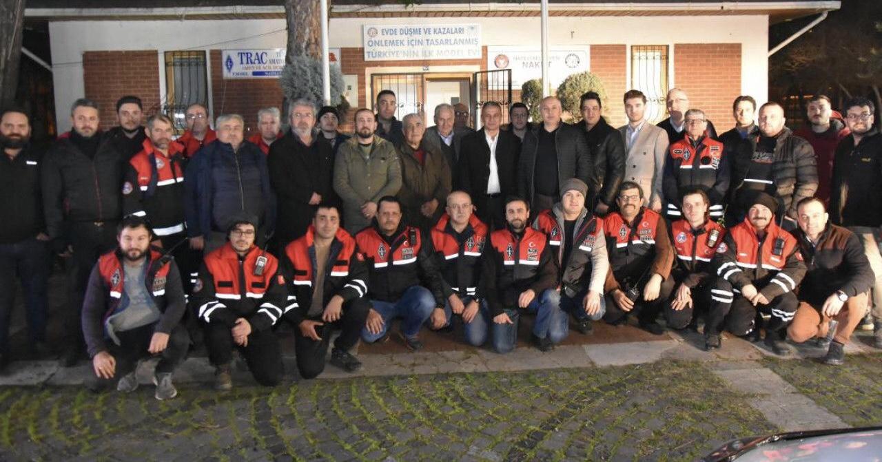 TRAC yönetimi, Nazilli Belediyesi yetkilileriyle deprem tatbikatını görüştü