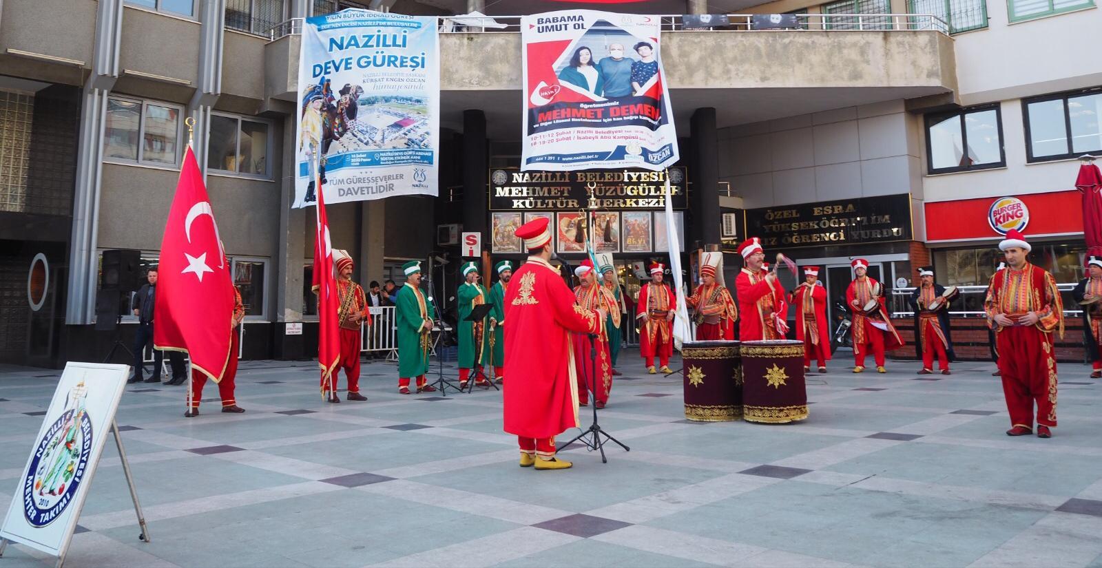 NAZİLLİ'DE FESTİVAL COŞKUSU