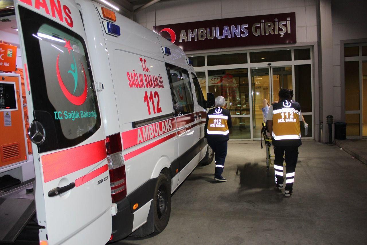 Nazilli'de kaza ; 1'i çocuk 2 yaralı