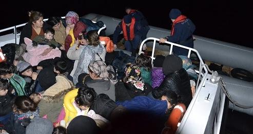 Aydın'da 90 düzensiz göçmen yakalandı