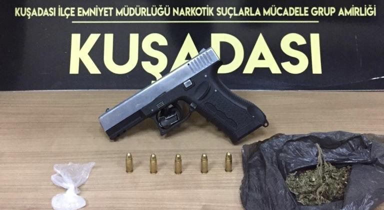 Aydın'da gözaltındayken kaçmaya çalışan zanlı yakalandı