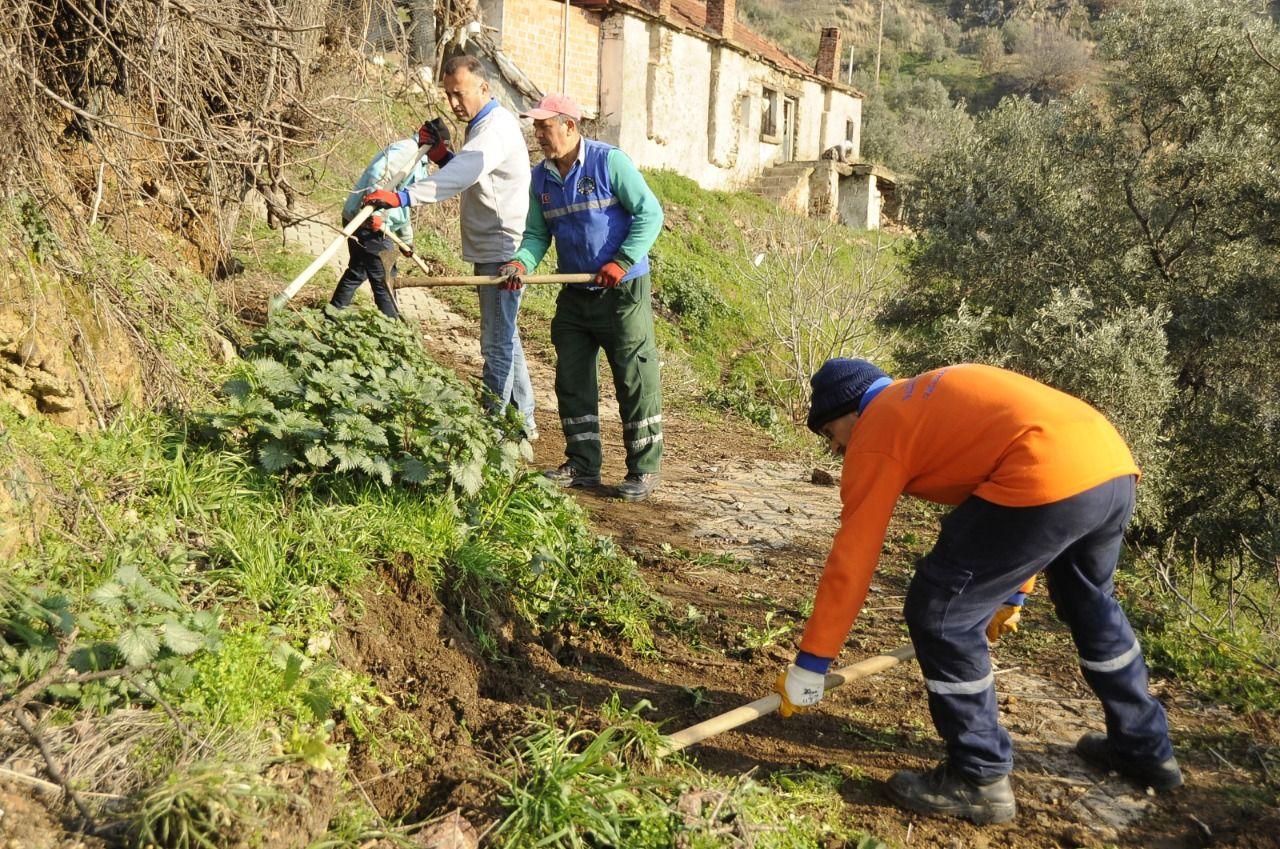 Aydın Büyükşehir Belediyesi'nden Nazilli'de bahar temizliği