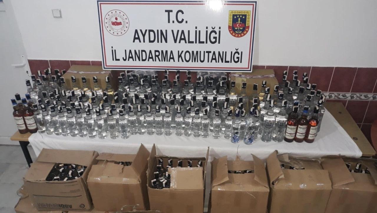 Aydın'da sahte içki operasyonu