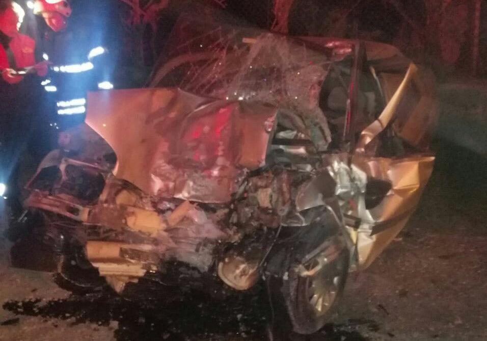 Aydın'da park halindeki iş makinesine çarpan otomobilin sürücüsü öldü