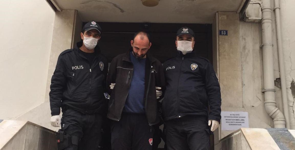NAZİLLİ'DE SİLAHLI ŞAHIS YAKALANDI