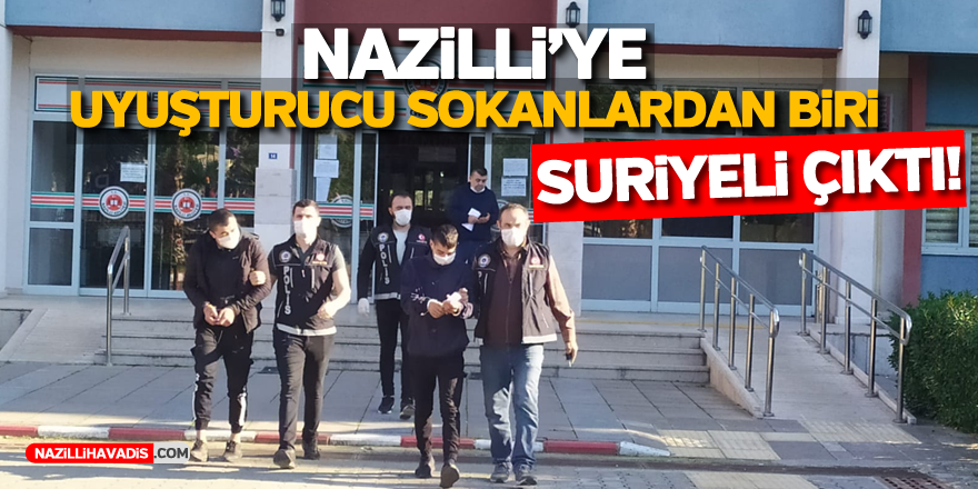 Nazilli'de uyuşturucu operasyonu: 3 tutuklama!