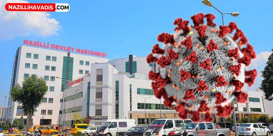 Nazilli'de 8 kişinin koravirüs testi pozitif çıktı
