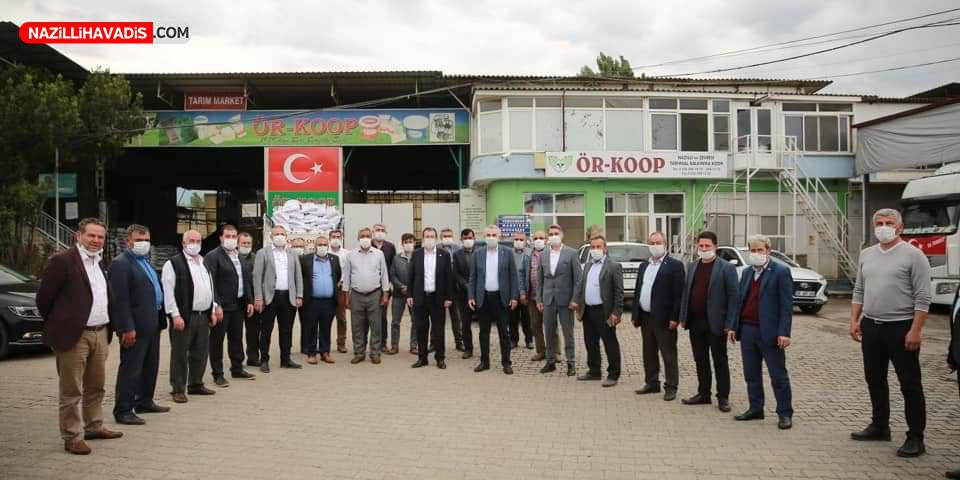 AK PARTİ HEYETİNDEN ÖRKOOP'A ZİYARET