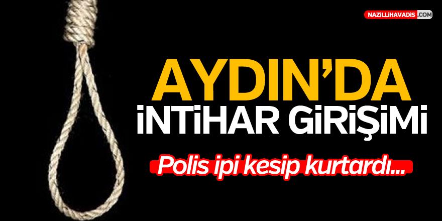 Aydın'da intihar eden kişiyi polis ipten aldı!