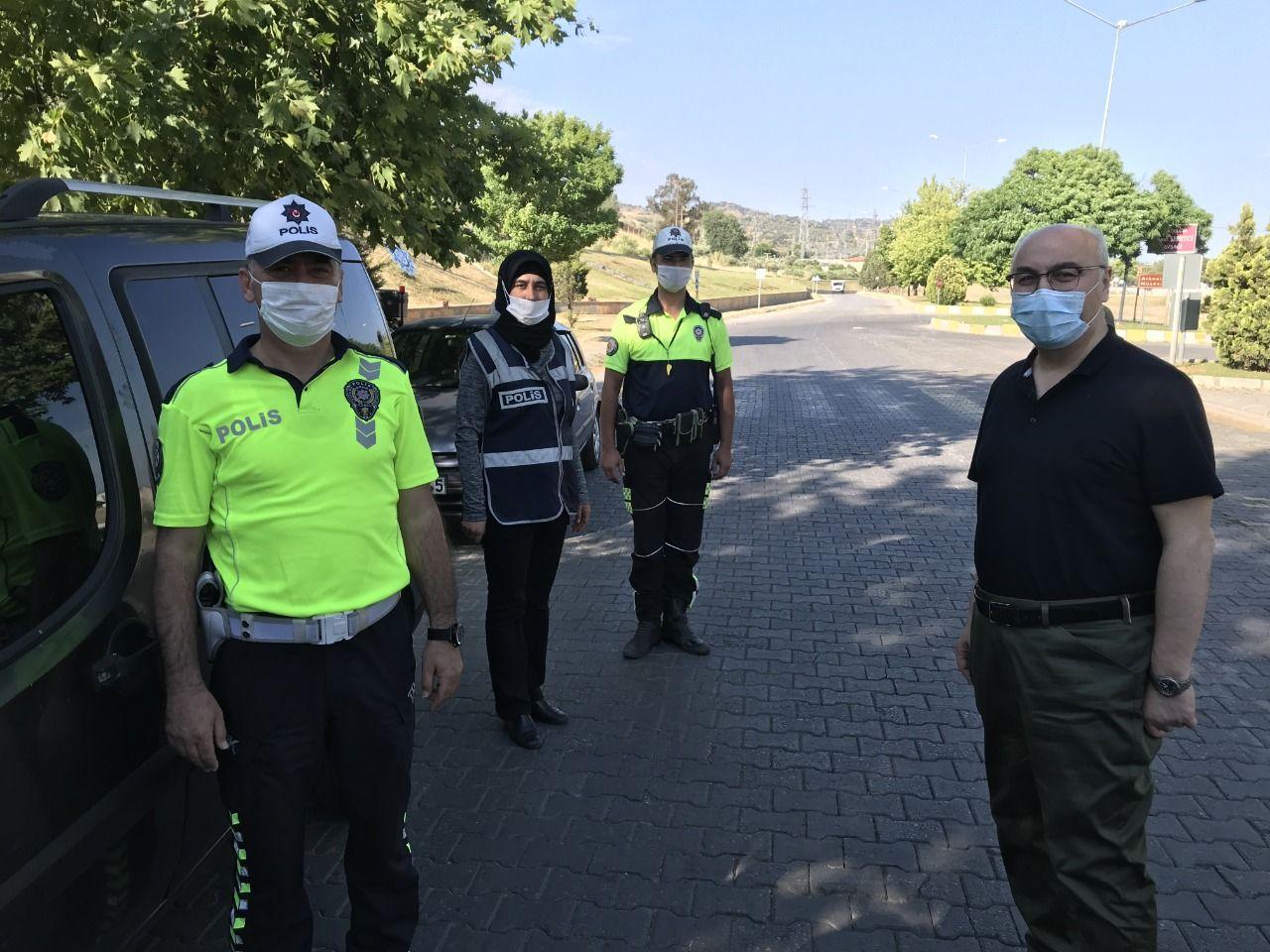 Aydın Valisi Köşger'den Polis Ve Jandarmaya Bayram Ziyareti