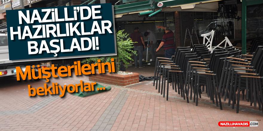 NAZİLLİ'DE HAZIRLIKLAR BAŞLADI!