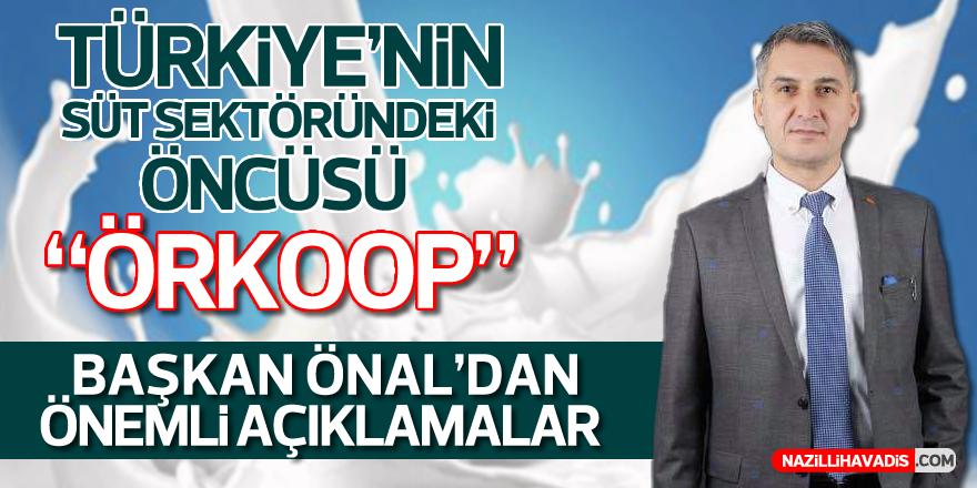 """ÖRKOOP Başkanı Önal'dan """"Dünya Süt Günü"""" Mesajı"""