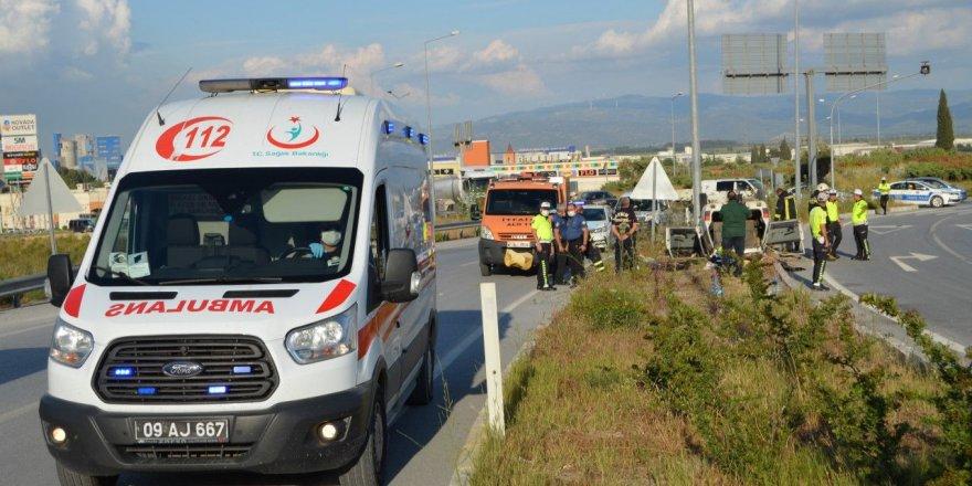 Aydın'da Otomobil Takla Attı: 3 Yaralı