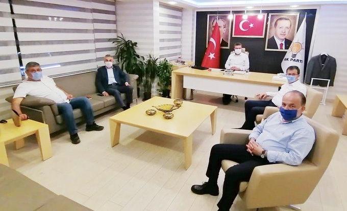AK Parti Aydın'da İstişare Toplantısı Yapıldı