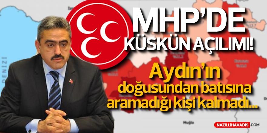 MHP Aydın'da Küskün Açılımı