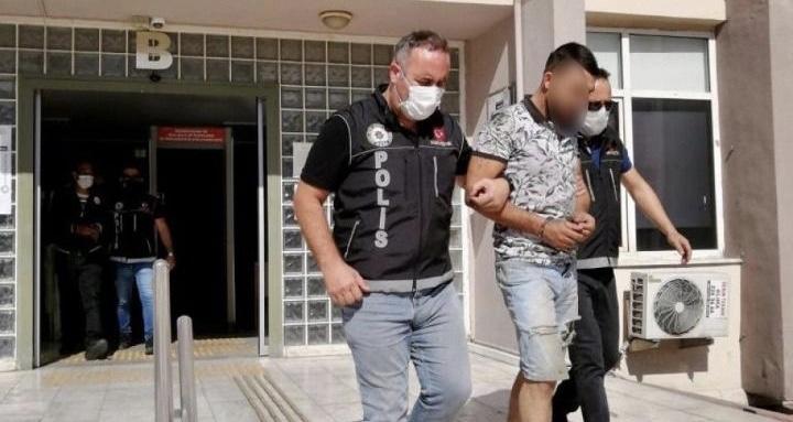 Aydın'da bir otomobilde yarım kilogram uyuşturucu ele geçirildi