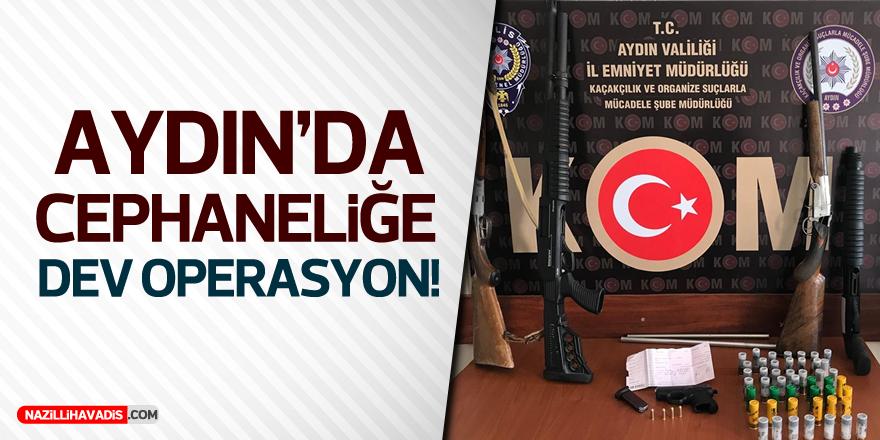 Aydın'da Cephaneliğe Polis Operasyonu: 4 Tutuklu