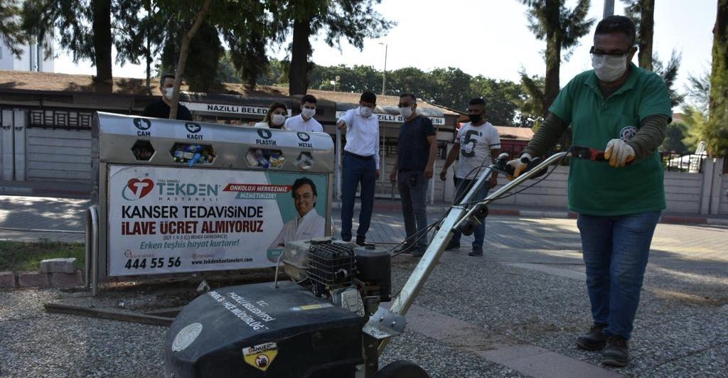 Nazilli Belediyesi Yeşil Mahalle'de çalışmalara başladı