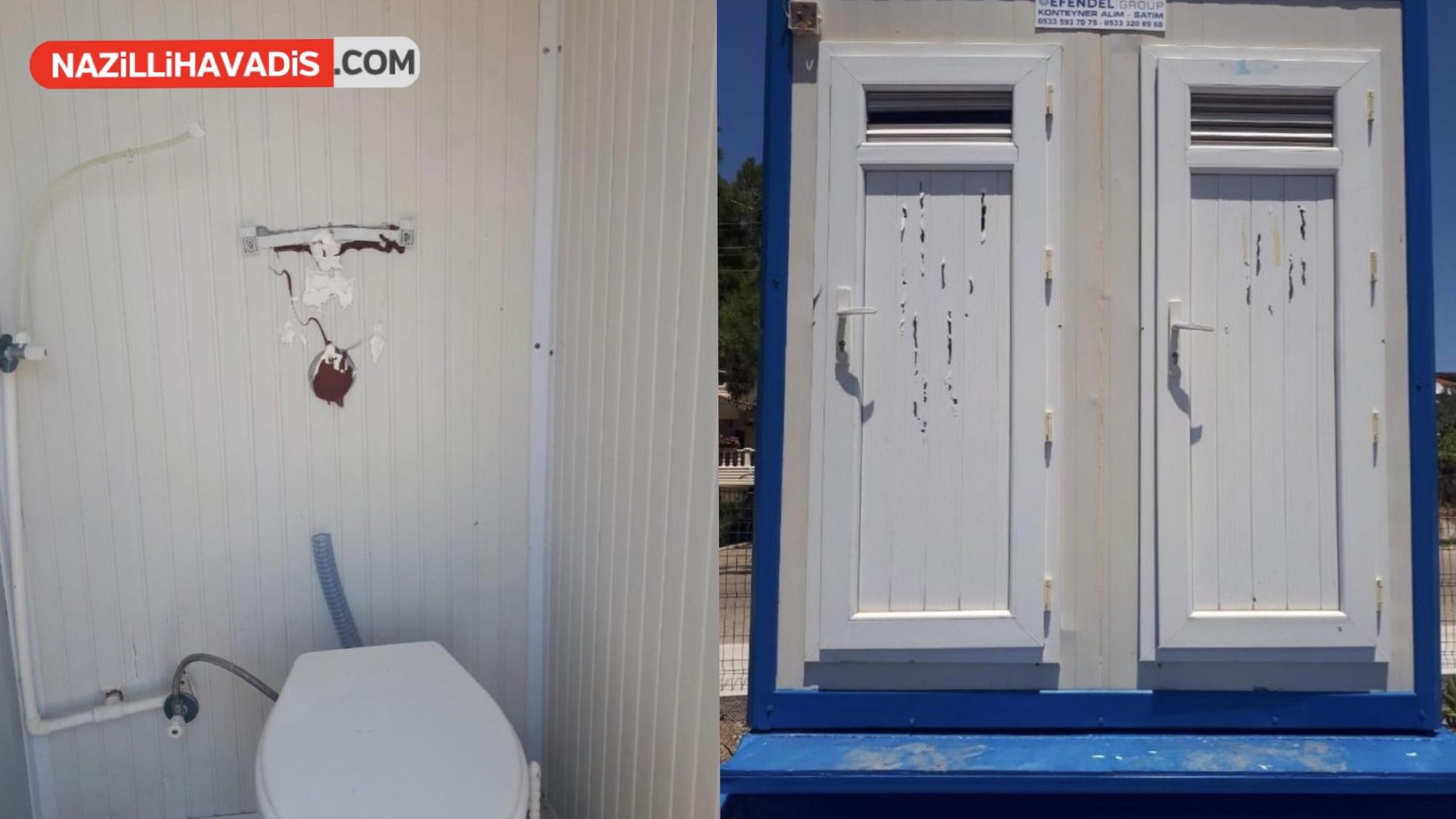 Didim'de Kamu Malını Tahrip Ettiler