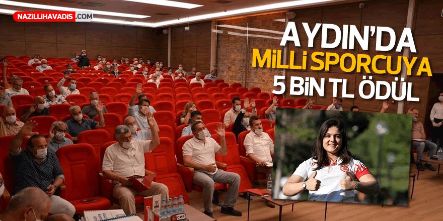 Efeler'de Milli Sporcuya 5 Bin TL Ödül