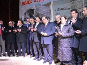Fakülte'nin Temeli Bakan Veysel Eroğlu'nun Katılımıyla Atıldı