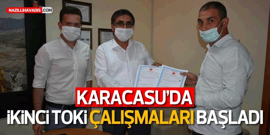 Karacasu 2. TOKİ çalışmaları Başladı