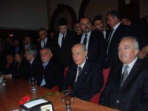 MHP Lideri Bahçeli Aydın'da